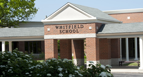 St. Louis City Private Middle and High School - Whitfield's brick exterior